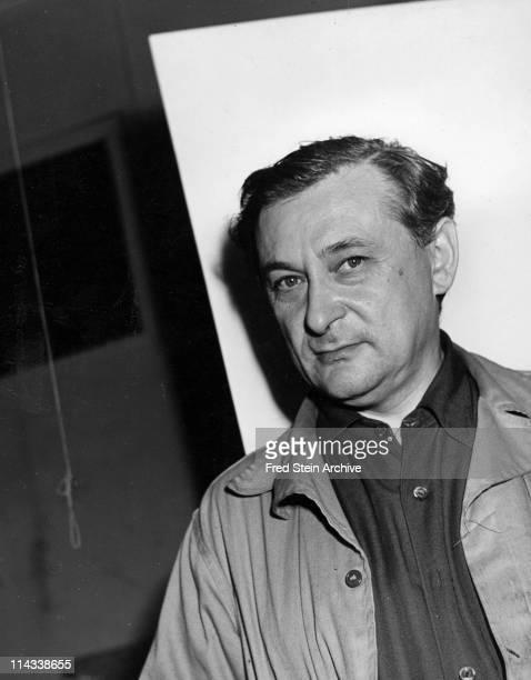 Portrait of Lithuanian sculptor Jacques Lipchitz 1942