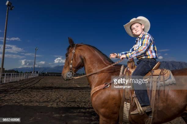 Portrait of Little Cowboy