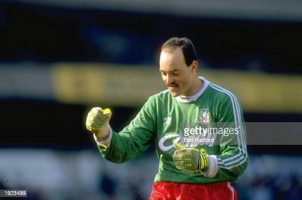 Portrait of Liverpool goalkeeper Bruce Grobbelaar during a match Mandatory Credit Ben Radford/Allsport