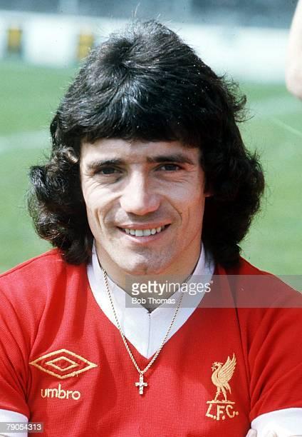 1976 A portrait of Liverpool's Kevin Keegan