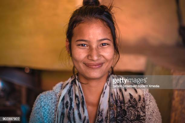 Portrait of local Nepalese girl