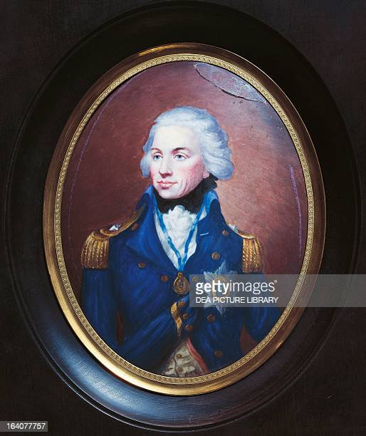 Portrait of Lord Horatio Nelson British admiral oil painting Monmouth Nelson Museum And Local History Centre