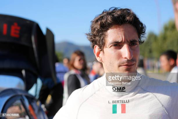 Portrait of Lorenzo Bertelli of Italy taken during Day Two of the WRC Argentina on April 29, 2017 in Villa Carlos Paz, Argentina.