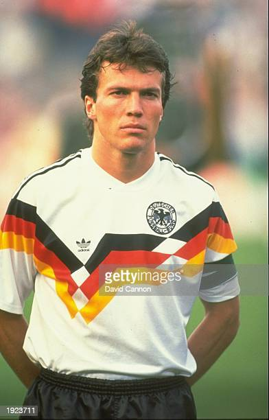Portrait of Lothar Matthaus of West Germany before a match Mandatory Credit David Cannon/Allsport