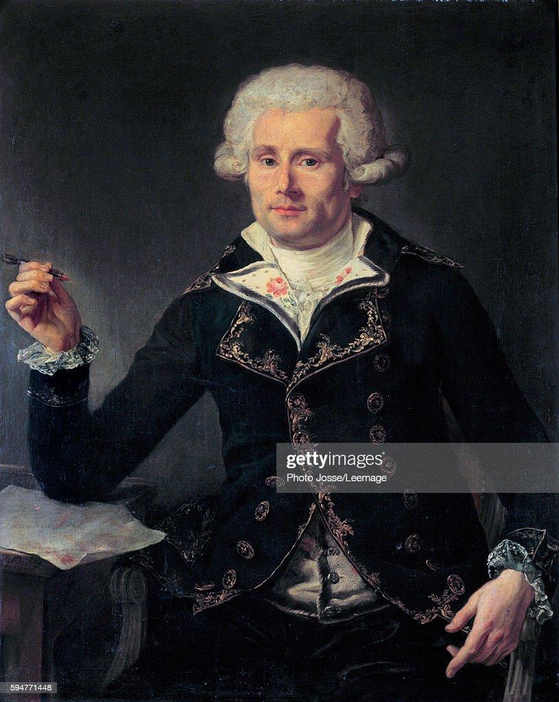 Portrait of Louis Antoine, Comte de Bougainville by Joseph Ducreux : ニュース写真