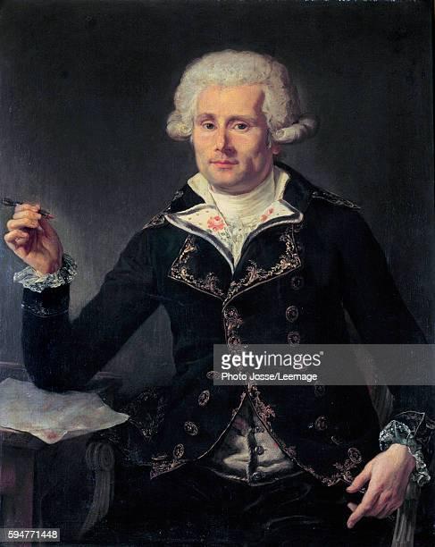 Portrait of Louis Antoine, Comte de Bougainville . Painting by Joseph Ducreux , 1793. 0,91 x 0,72. Castle Mueum, Versailles, France