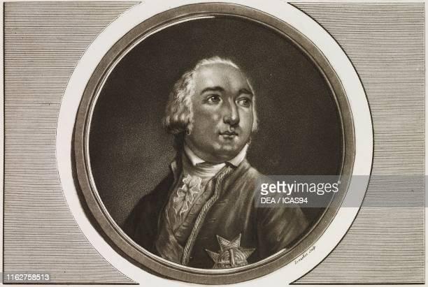 Portrait of Louis Philippe II, Duke of Orleans , engraving by Levachez, from Tableaux historiques de la Revolution francaise , volume III Paris.