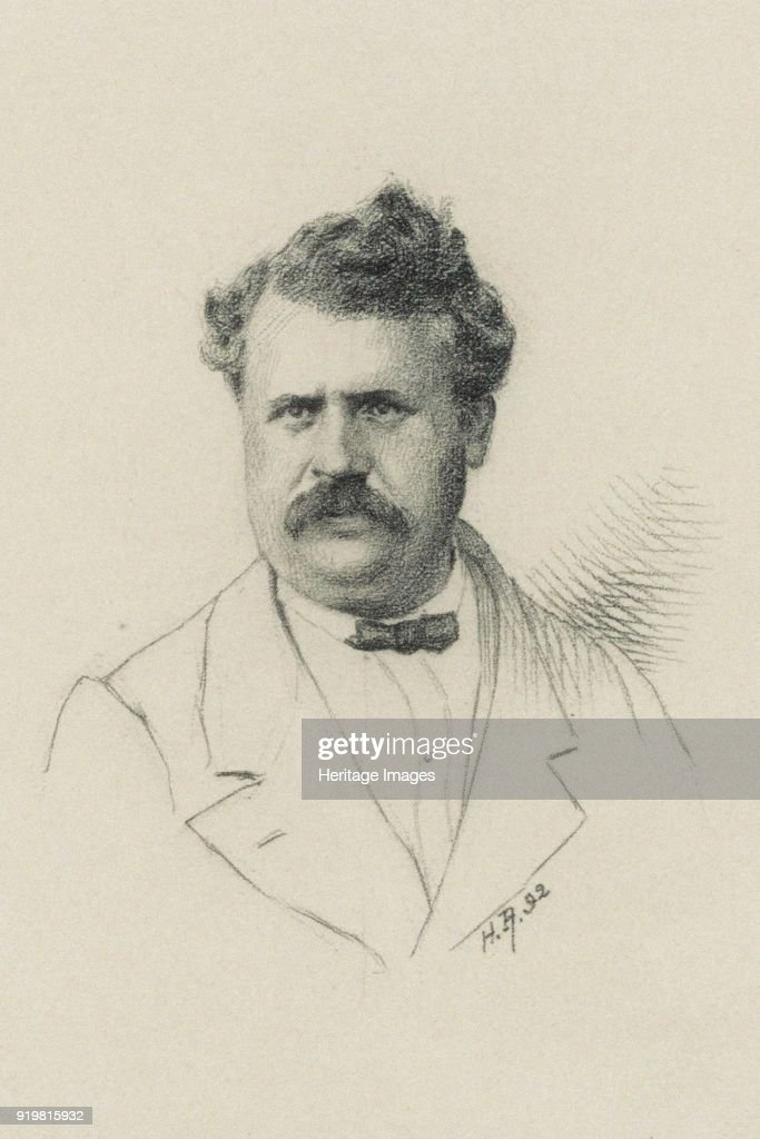 Portrait Of Louis Vuitton (1821-1892) : News Photo
