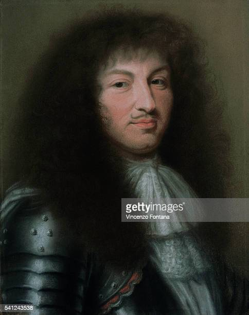 Portrait of Louis XIV King of France by Robert Nanteuil