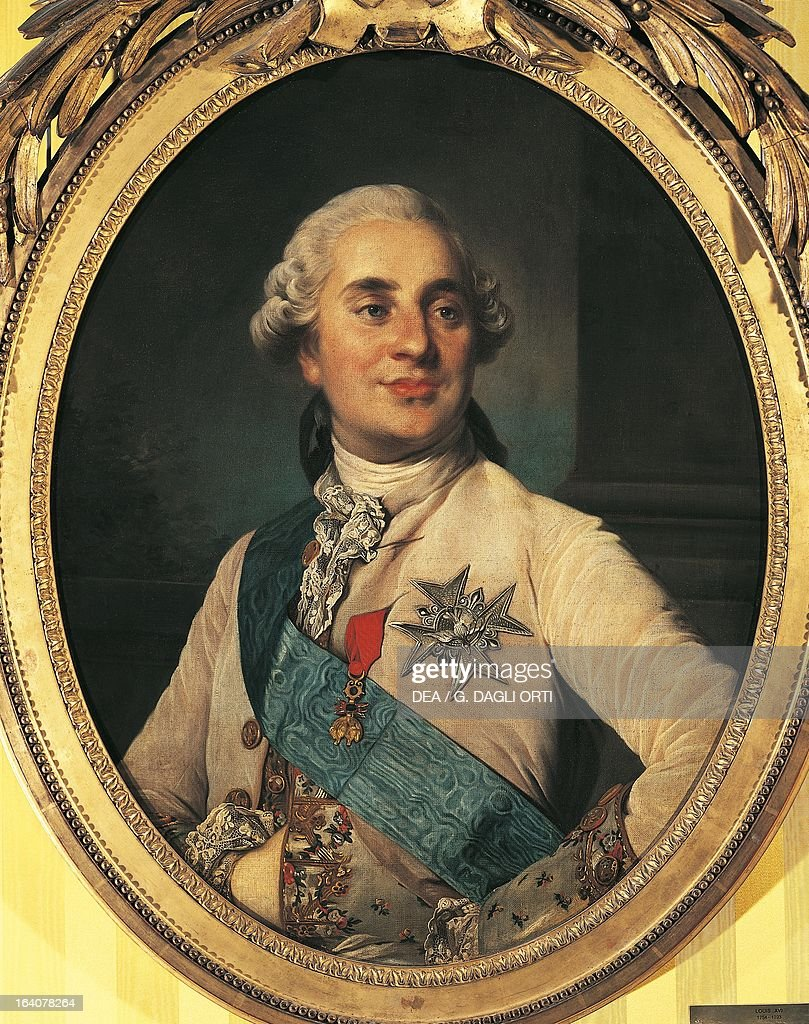 Portrait of Louis XVI (Versailles, 1754-Paris, 1793), King of France and Navarre. Painting by Joseph Siffred Duplessis (1725-1802). Versailles, Château De Versailles