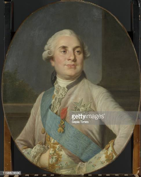 Portrait of Louis XVI, King of France, workshop of Joseph Siffrede Duplessis, c. 1777 - c. 1789