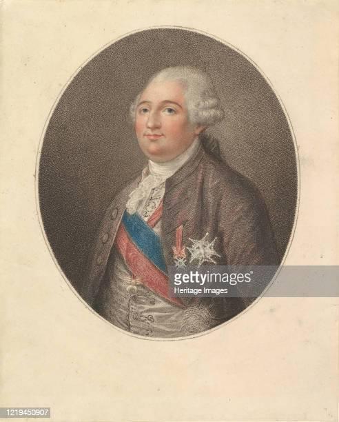 Portrait of Louis XVI, late 18th century. Artist Unknown.