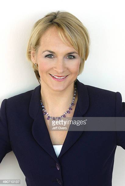 Portrait of Louise Minchin presenter and newsreader BBC News