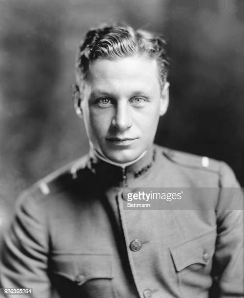 Portrait of Lt Hobey Baker flier of World War I A Princeton athlete who lost his life in France during the war