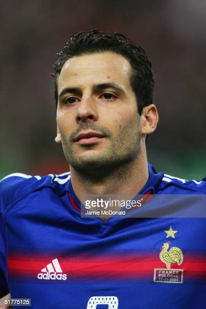 A portrait of Ludovic Giuly of France prior to during the international friendly match between France and Poland at the Stade de France on November...