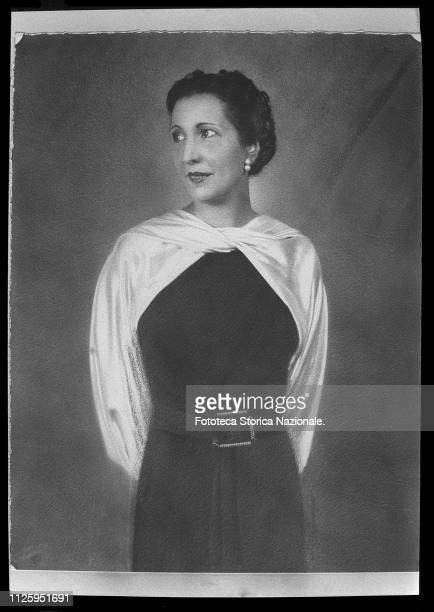 Portrait of Ludovica Zambeletti, wife of Alberto Pirelli, mother of Maria Giovanna Albertoni, Elena Brambilla, Giovanni Pirelli e Leopoldo Pirelli....