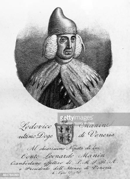 Portrait of Ludovico Manin