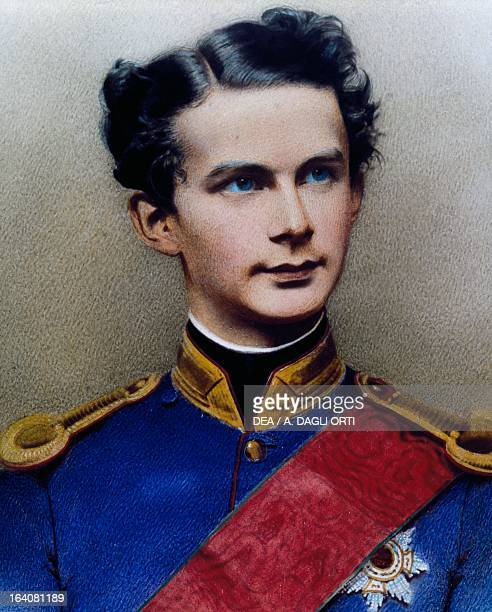 Portrait of Ludwig II of Bavaria King of Bavaria