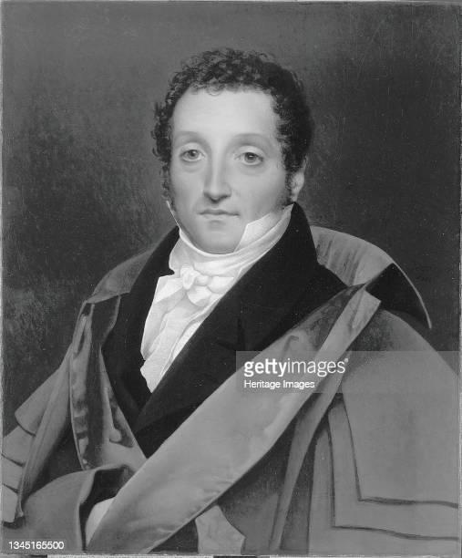 Portrait of Luigi Edouardo Rossi, Count Pellegrino, circa 1820. Artist Jean-Auguste-Dominique Ingres.