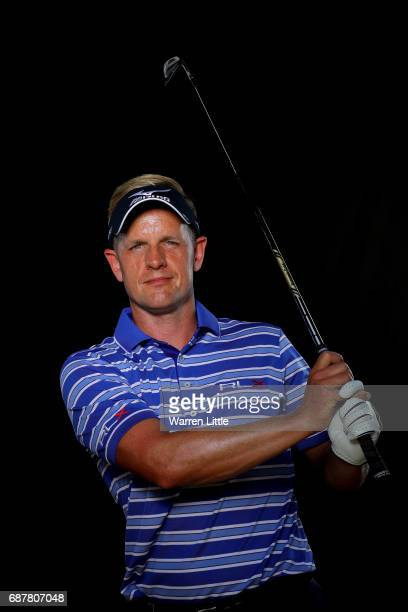 A portrait of Luke Donald of England ahead of the BMW PGA Championships on the West Course at Wentworth on May 24 2017 in Virginia Water England