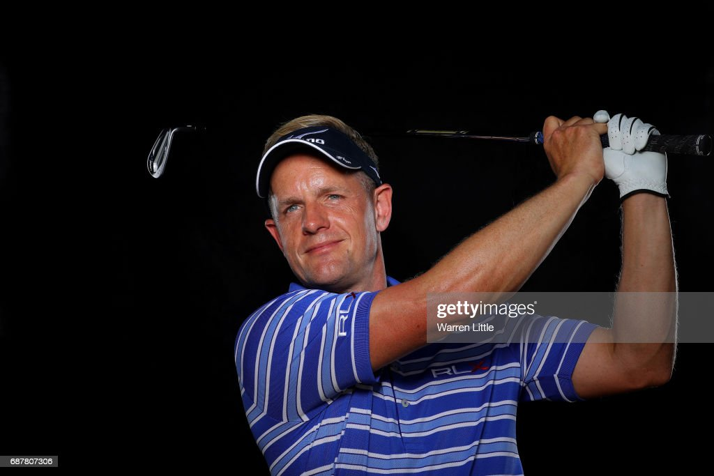 A portrait of Luke Donald of England ahead of the BMW PGA Championships on the West Course at Wentworth on May 24, 2017 in Virginia Water, England.