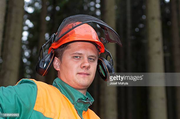 Portrait of Lumberjack
