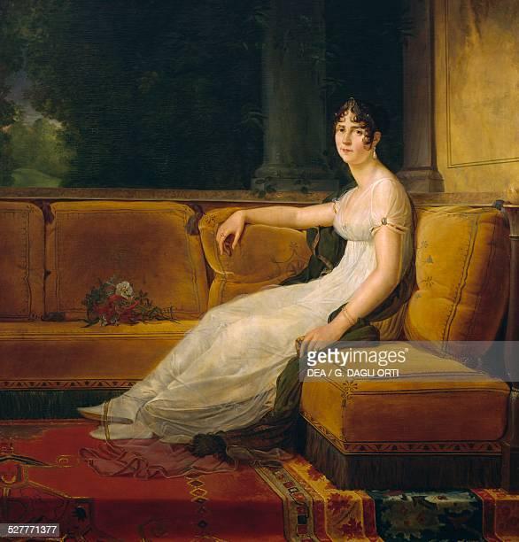 Portrait of Madame Bonaparte at Malmaison painting by Francois Gerard oil on canvas France 19th century RueilMalmaison Musée National Du Château De...