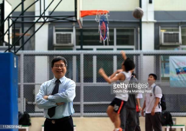 Portrait of Mak Yiukwong Principal of CMA Secondary School in Shek Kip Mei 26SEP11