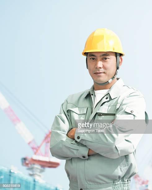 Portrait Of Male Architect