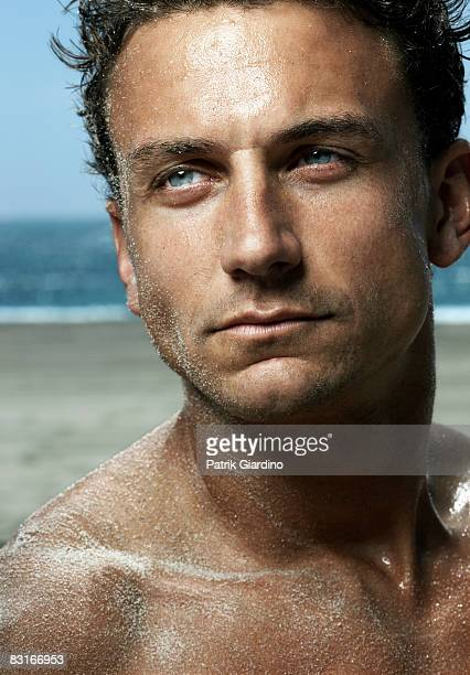 Portrait of Male on the Beach