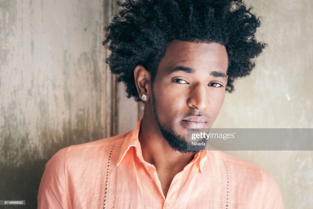 Portrait of Man, Havana, Cuba : Stock Photo