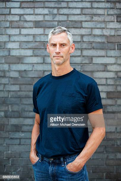 portrait of man in his 50's - three quarter length stock pictures, royalty-free photos & images