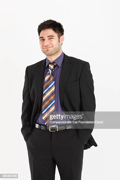 portrait of man in suit - compassionate eye foundation stock pictures, royalty-free photos & images
