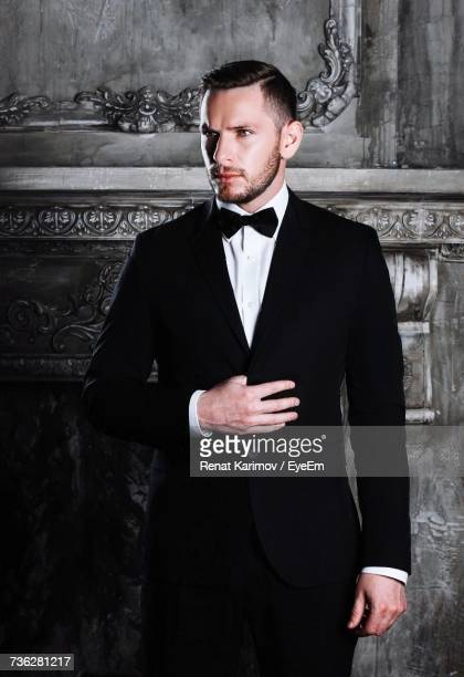 Portrait Of Man In Tuxedo