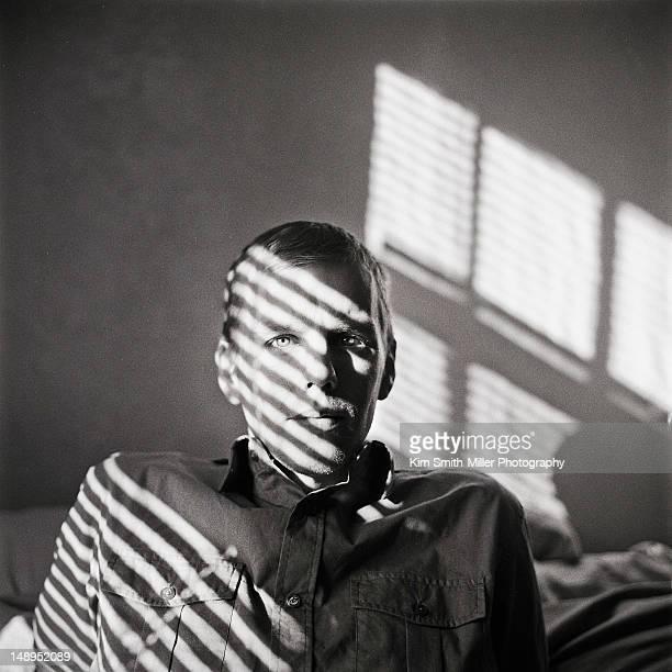 Portrait of Man on film
