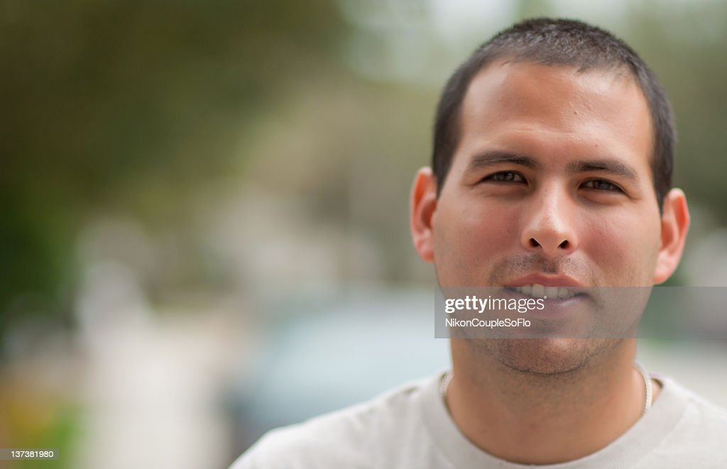 Portrait of man : Stock Photo
