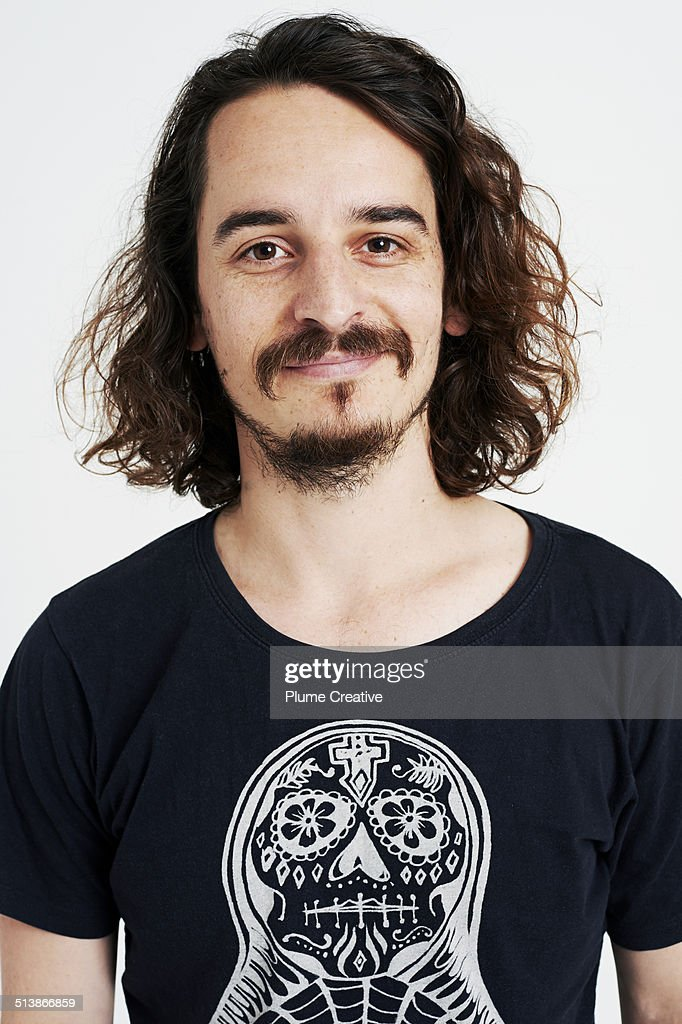 Portrait of man : Stock-Foto