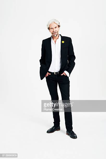 portrait of man - black trousers stock pictures, royalty-free photos & images