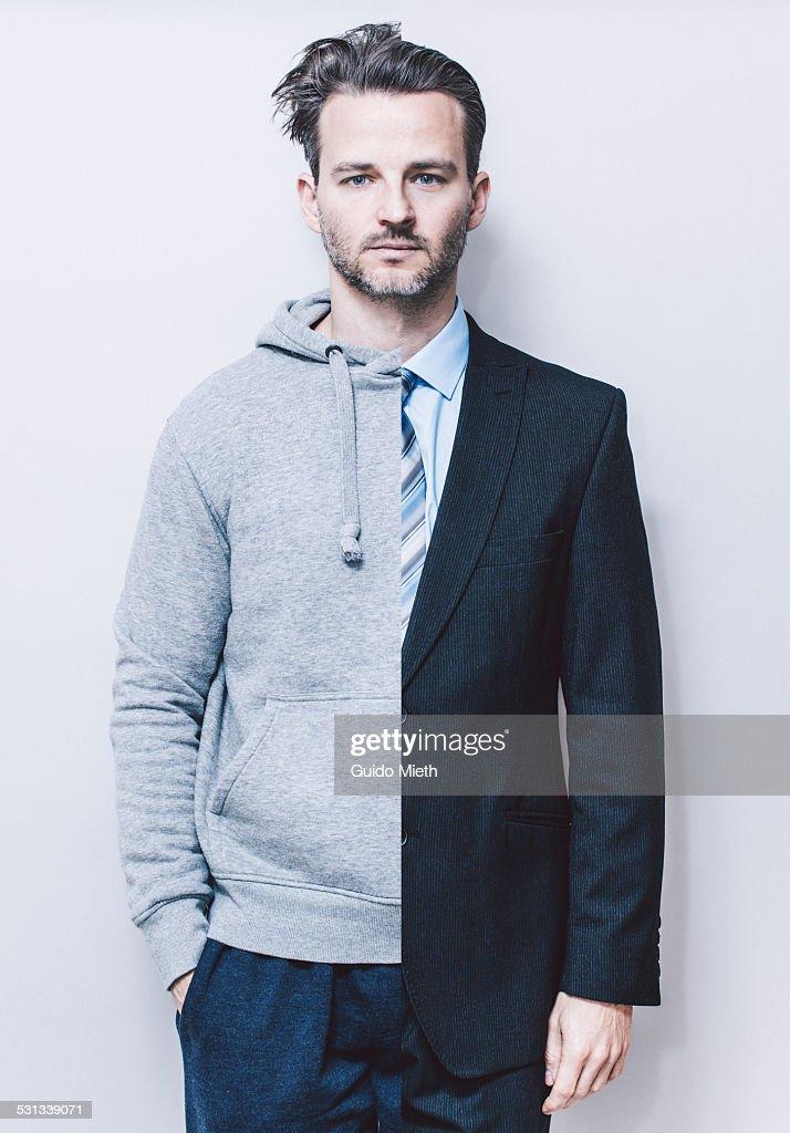 Portrait of man, : Stock Photo
