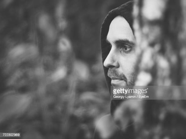 portrait of man - ominous stock photos and pictures