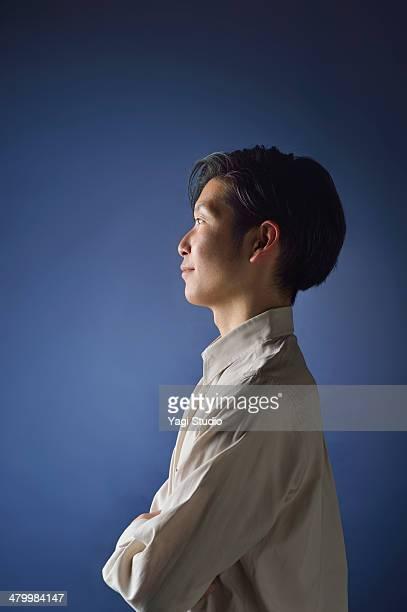 portrait of man,japan - 男性のみ ストックフォトと画像