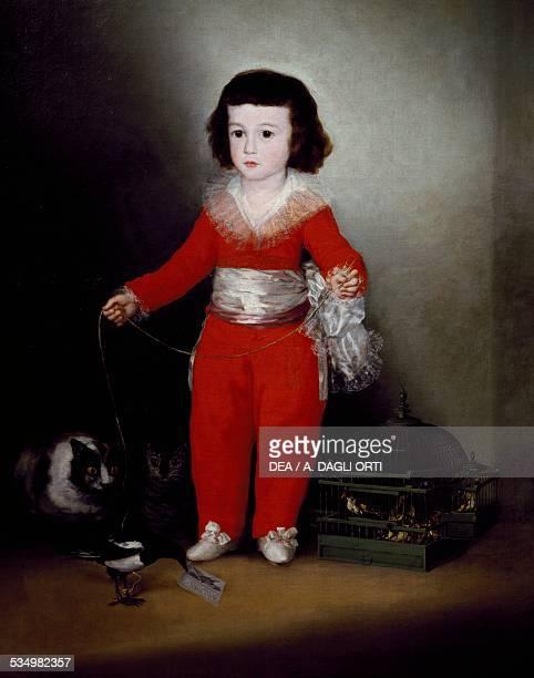 Portrait of Manuel Osorio Manrique de Zuniga ca 1790 by Francisco de Goya oil on canvas 127x102 cm Spain 18th century New York The Metropolitan...
