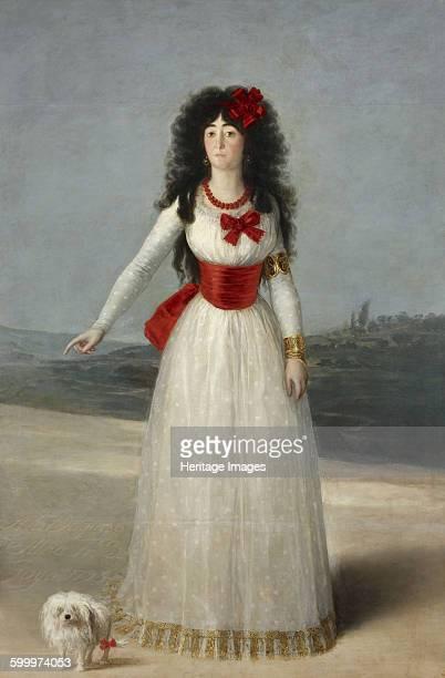 Portrait of María Cayetana de Silva 13th Duchess of Alba 1795 Found in the collection of Fundación Casa de Alba Artist Goya Francisco de