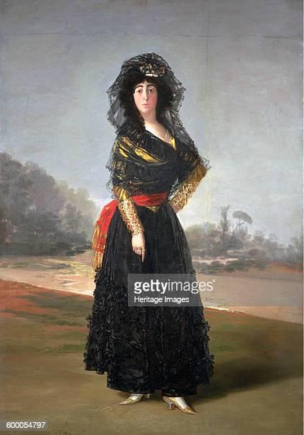 Portrait of María Cayetana de Silva 13th Duchess of Alba 1797 Found in the collection of The Hispanic Society of America New York Artist Goya...
