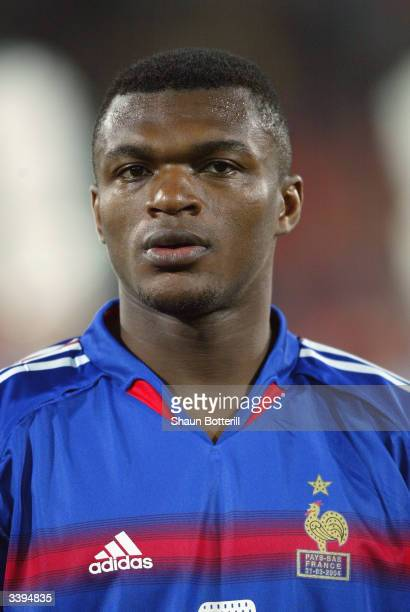 Portrait of Marcel Desailly of France taken before the International Friendly match between Holland and France held on March 31 2004 at the Feyenoord...