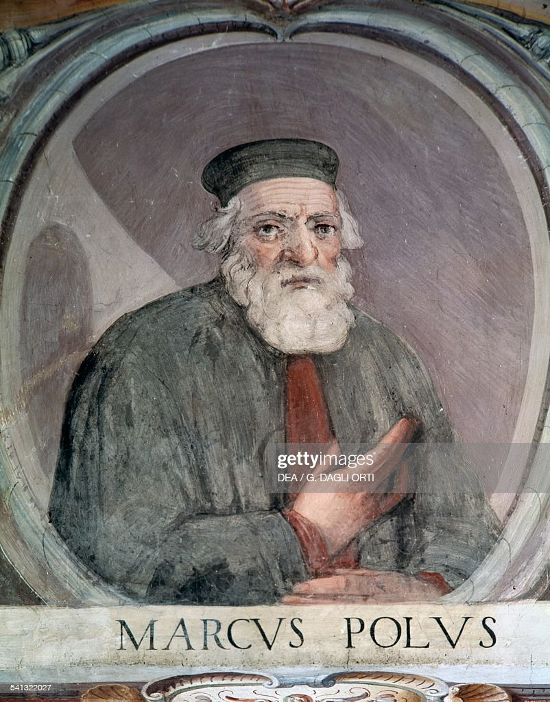 Portrait of Marco Polo (1254-1324)... Pictures | Getty Images