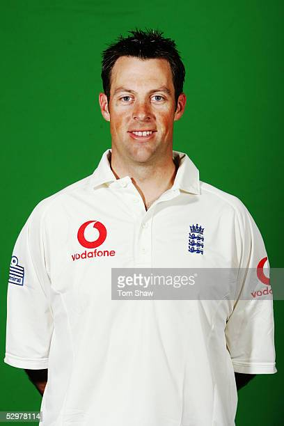 Portrait of Marcus Trescothick of England taken during a photocall at the Stapleford Park Hotel on May 20, 2005 in Melton Mowbray, Leicestershire,...