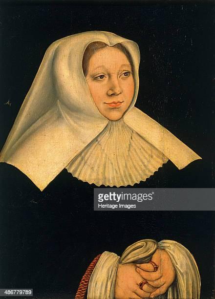 Portrait of Margaret of Austria , ca 1530. Artist: Cranach, Lucas, the Elder