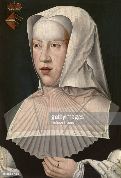 Portrait of Margaret of Austria , Early16th cen.. Found in the collection of the Royal Museum of Fine Arts, Antwerp.