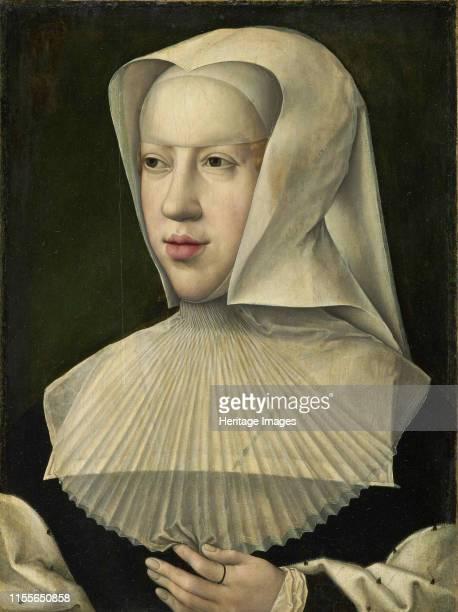 Portrait of Margaret of Austria . Found in the Collection of Musées royaux des Beaux-Arts de Belgique, Brussels. Artist Orley, Bernaert, van .